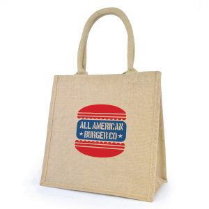 Promotional Medium Jute Bag - Totally Branded