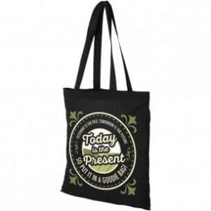 Promotional Coloured Cotton Shopper Bags - Totally Branded