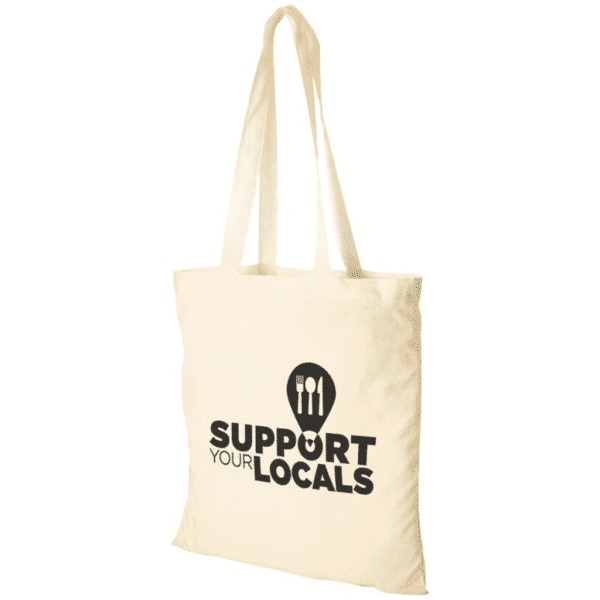 Promotional Natural Tote Bags - Totally Branded
