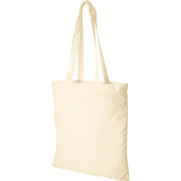Screen Printed Natural Cotton Tote Bags