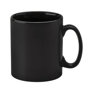 Matt Black Cambridge Mug - Totally Branded
