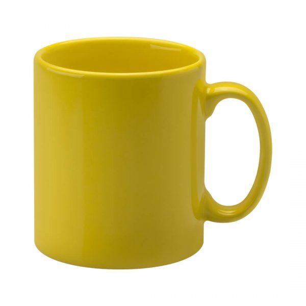Cambridge Yellow Printed Mugs - Totally Branded