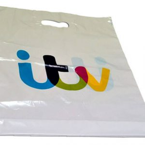 Full Colour Polythene Carrier Bag - Totally Branded