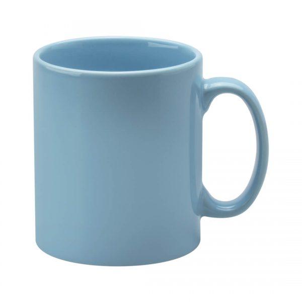 Light Blue Coloured Cambridge Mugs