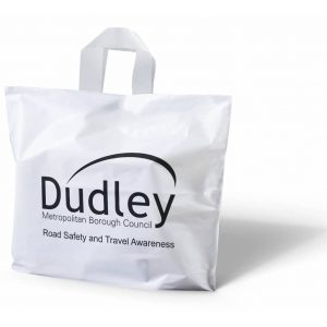 Flexi Loop Handle Carrier Bag - Totally Branded