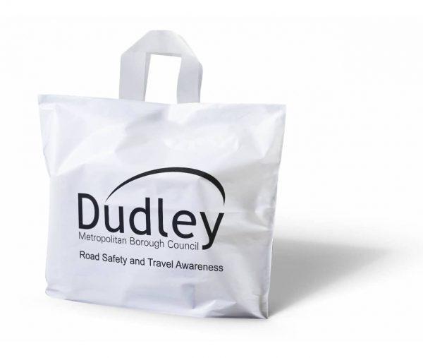 Flexi Loop Handle Carrier Bag - Totally Branded