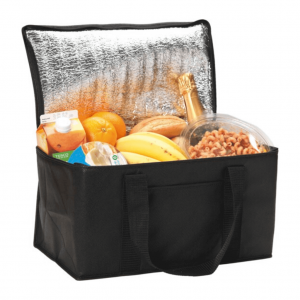 Rainham 12 Can Cooler Bag in Black