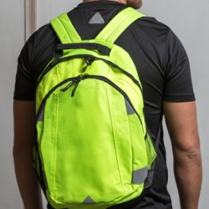 Promotional Reflective Backpack - Totally Branded