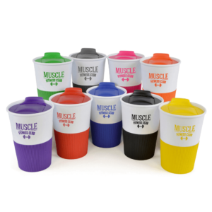 Rubber Base Take Out Cup