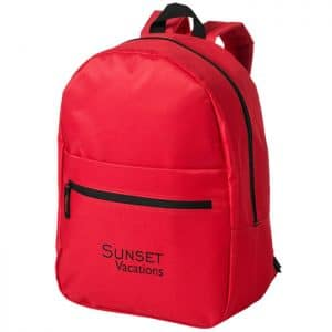 Promotional Vancouver Backpack Red - Totally Branded
