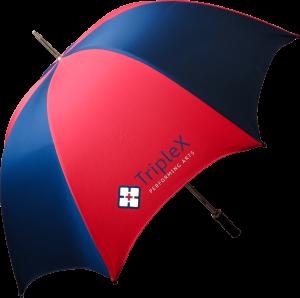 Bedford Budget Walking Umbrella - Totally Branded