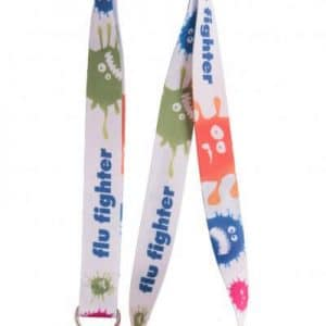 Branded 20mm Dye Sublimation Fast delivery lanyards
