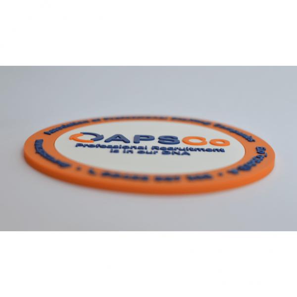 Bespoke Moulded PVC Coasters