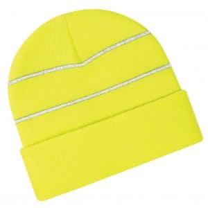 Branded Hi Vis Beanie Hats