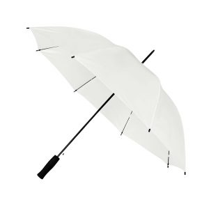 Branded Budget Walker Umbrella White Panels