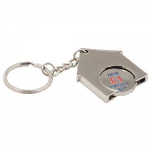 promotional-house-shaped-metal-trolley-coin-keyrings