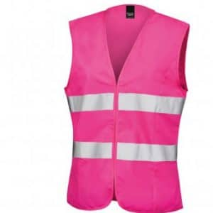 Branded ladies Hi Vis Vests