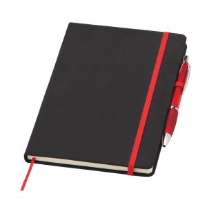 Branded Medium Noir Notebook - Totally Branded