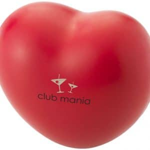 Branded Promotional Stress Heart - Totally Branded