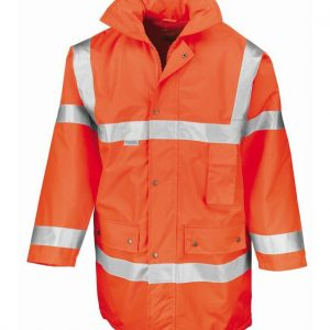Branded Result Hi Vis Safety jackets