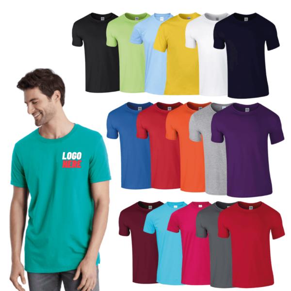 GD01 Gildan Softstyle adult ringspun t-shirt