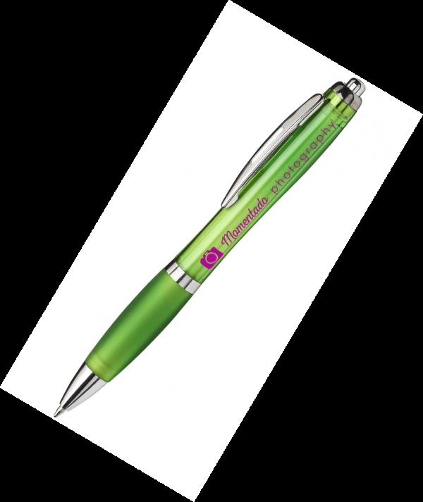Promotional Curvy Pens - TotallyBranded