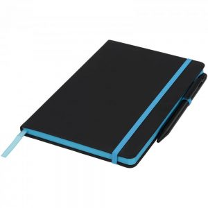 Noir Edge Medium Notebook - Totally Branded