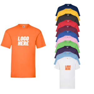 Printed Fruit of the Loom Value T-Shirt
