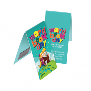 Printed Magnetic Bookmarks