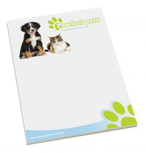 Promotional A4 Desk Pads Printed