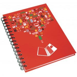 A5 Hardback Wiro Notebook - Totally Branded