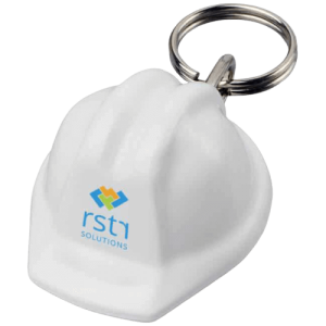 Promotional Hard Hat Keyring - Totally Branded