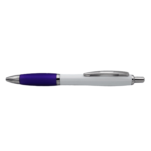 Curvy Ballpen Purple - Totally Branded