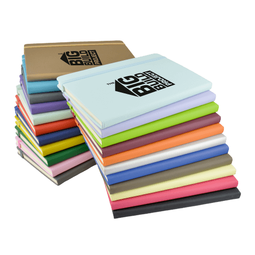 A5 Mole Notebook Colours - Totally Branded