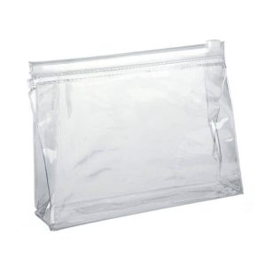 Branded Toiletry Bag - Clear PVC Slide