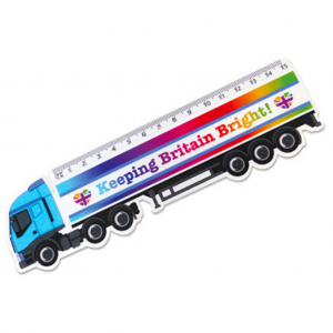 Lorry Shaped Ruler