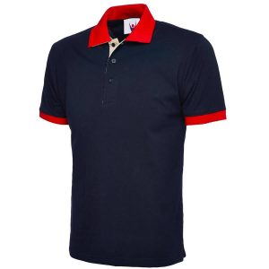 branded-uneek-contrast-poloshirts