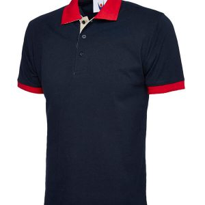 Branded Uneek Contrast Poloshirt - Totally Branded