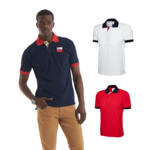 UC107 - Uneek Contrast Polo Shirt