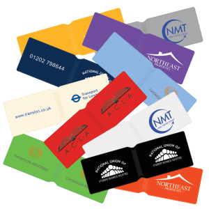 Branded Oyster Card Wallet Holders printed with your full colour logo or promotional message.