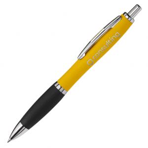 Curvy Metal Ball Pen