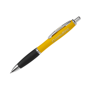 Promotional Soft Touch Curvy Pens