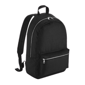 Promotional Metallic Zip Backpack Silver - Totally Branded
