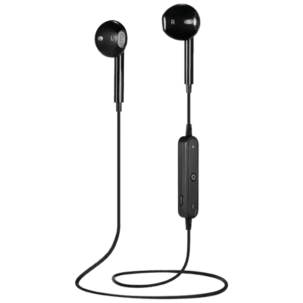 Promotional Black Earphones-TotallyBranded