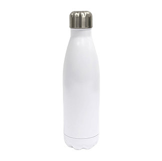 Low Minimum Insulated Bottle White - Totally Branded