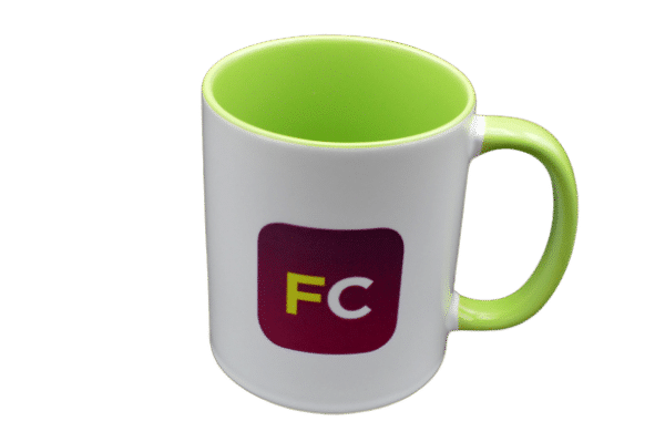 Two Tone Promotional Mugs - Totally Branded