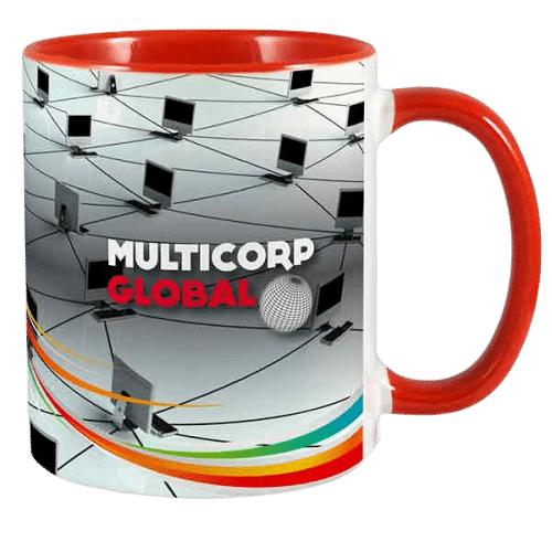 Two Tone Printed Mugs - Totally Branded