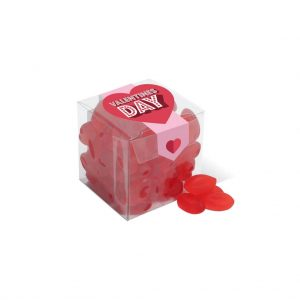 Branded Red Gummy Lip Sweets
