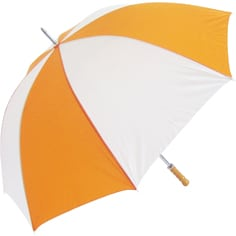 Budget Golf Orange Umbrella - Totally Branded