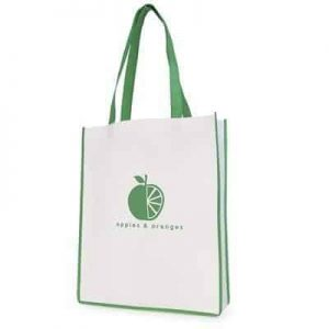 Contrast Shopper Bag - Totally Branded